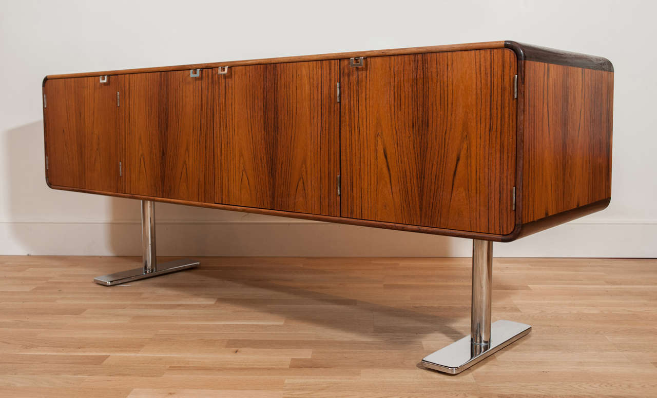 Canadian Rosewood Credenza by Leif Jacobsen