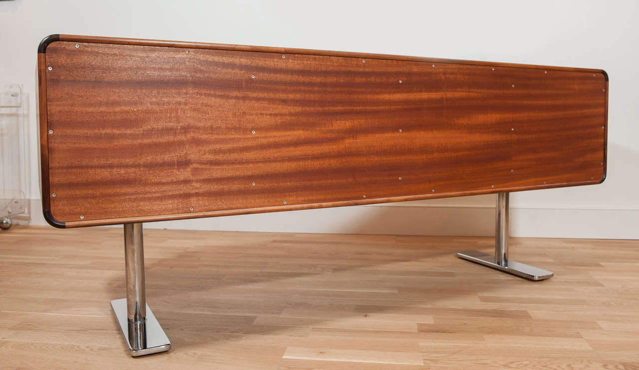 Rosewood Credenza by Leif Jacobsen In Excellent Condition In Toronto, ON