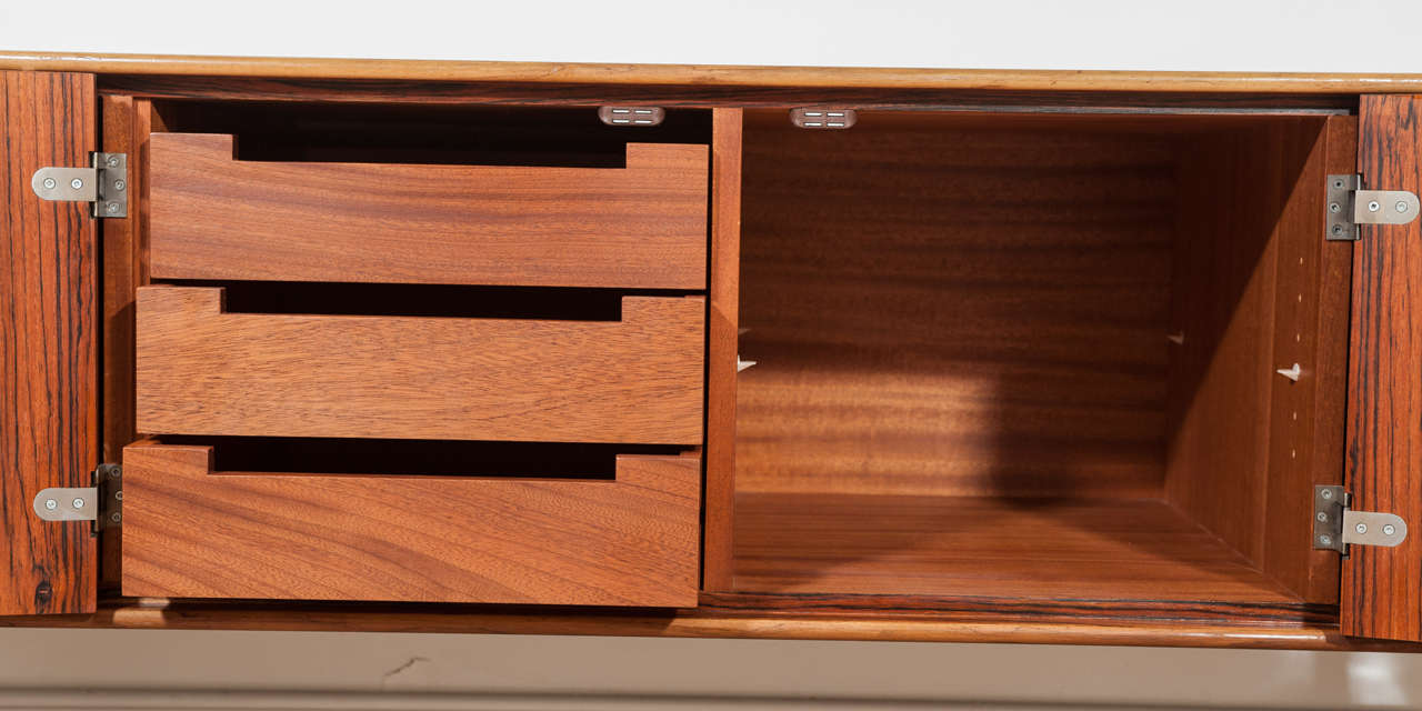 Rosewood Credenza by Leif Jacobsen 1