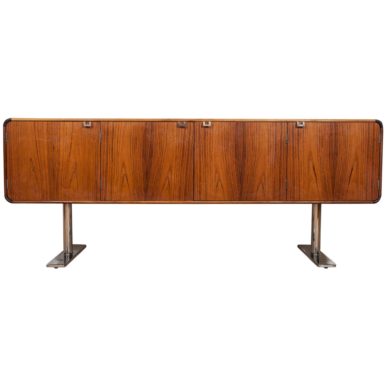 Rosewood Credenza by Leif Jacobsen