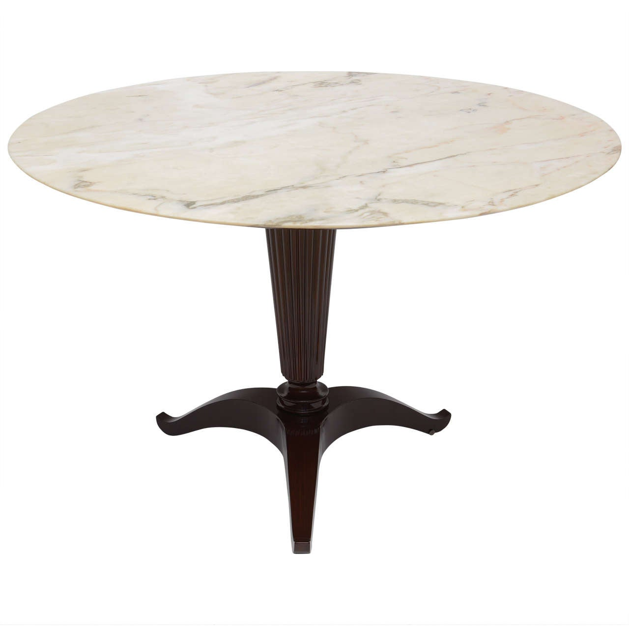 Michael taylor cyprus tree trunk dining table at 1stdibs - Italian Modern Onyx And Walnut Center Or Dining Table By Paolo Buffa Cypress Tree Trunk Dining Table By Michael Taylor