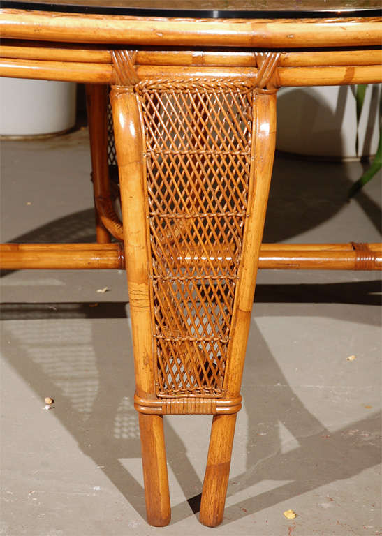 Vintage Rattan Dining Table Chairs at 1stdibs : DSC0155 from www.1stdibs.com size 547 x 768 jpeg 66kB