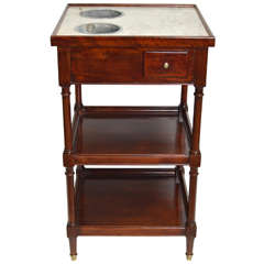 """Rafraichissoir Table"" Directoire Style"