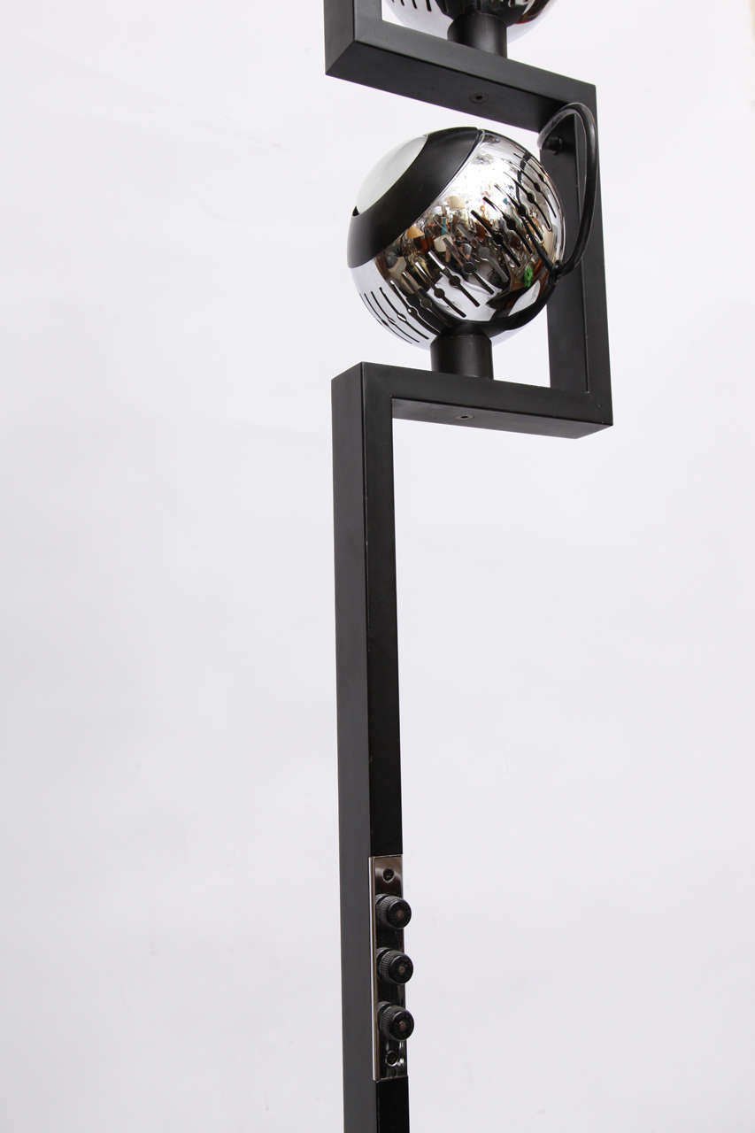 A 1970 S Italian Architectural Floor Lamp By Arredoluce At