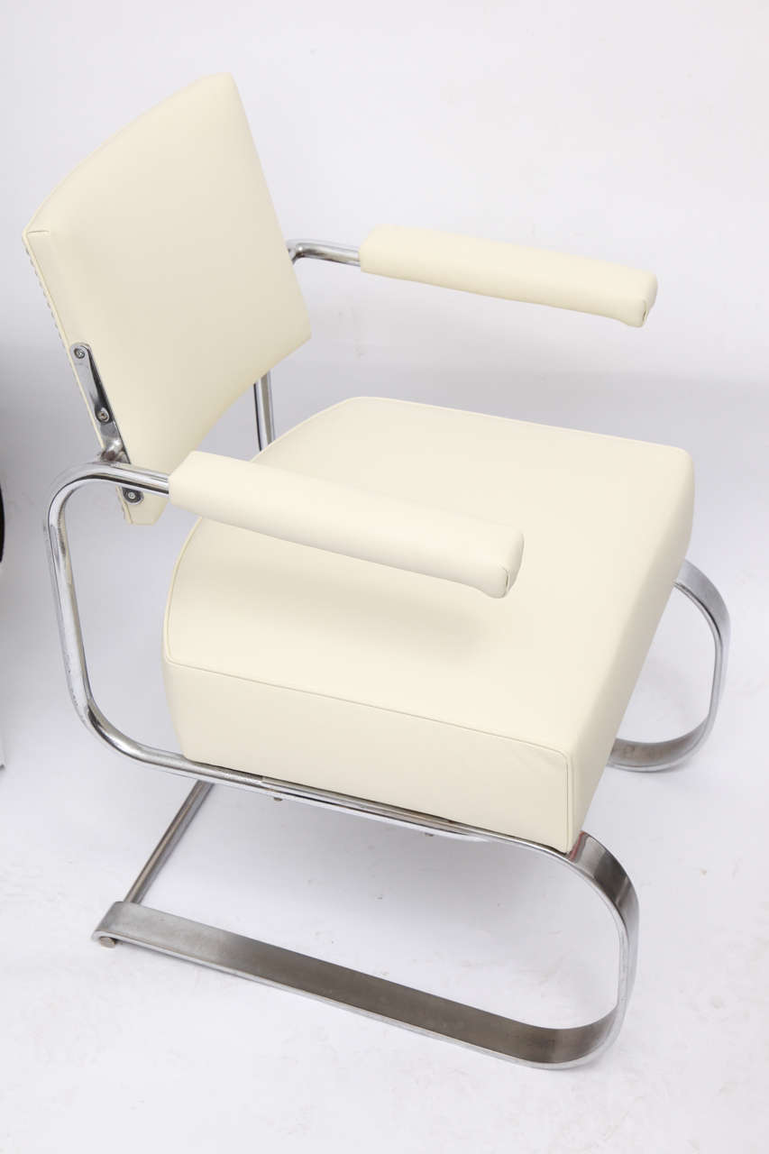 Gilbert Rohde Lounge Chair Art Deco Machine Age, 1930s For Sale 1