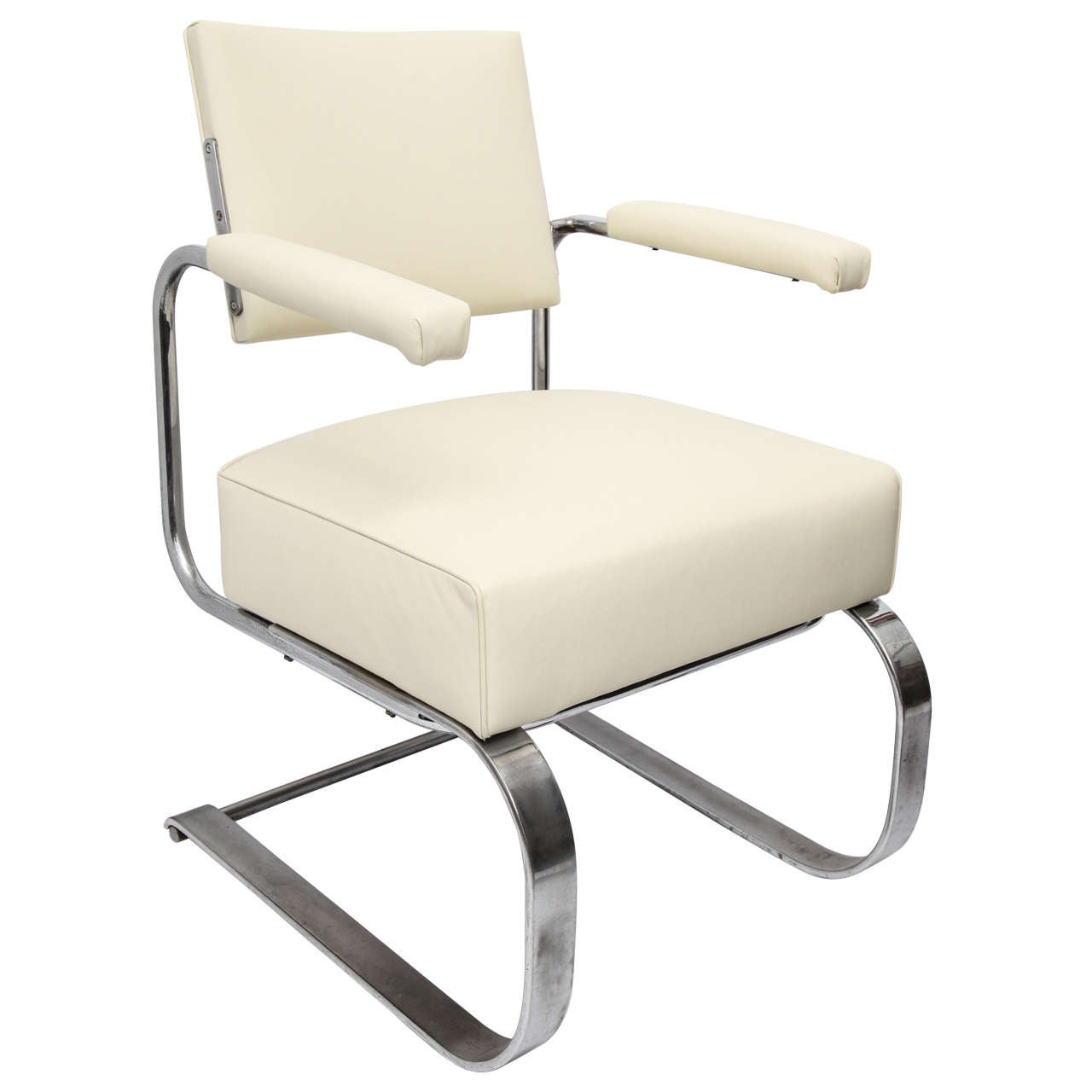 Gilbert Rohde Lounge Chair Art Deco Machine Age, 1930s For Sale