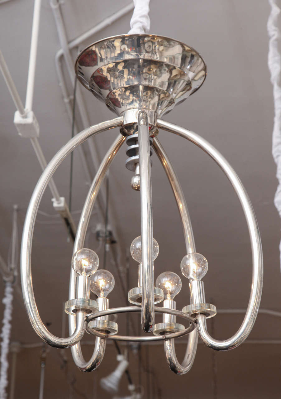 Modernist 1930s German Art Deco Ceiling Fixture At 1stdibs
