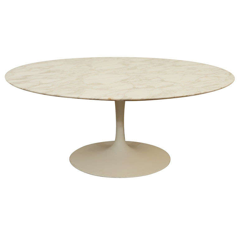 Saarinen Tulip Cocktail Table For Knoll At 1stdibs