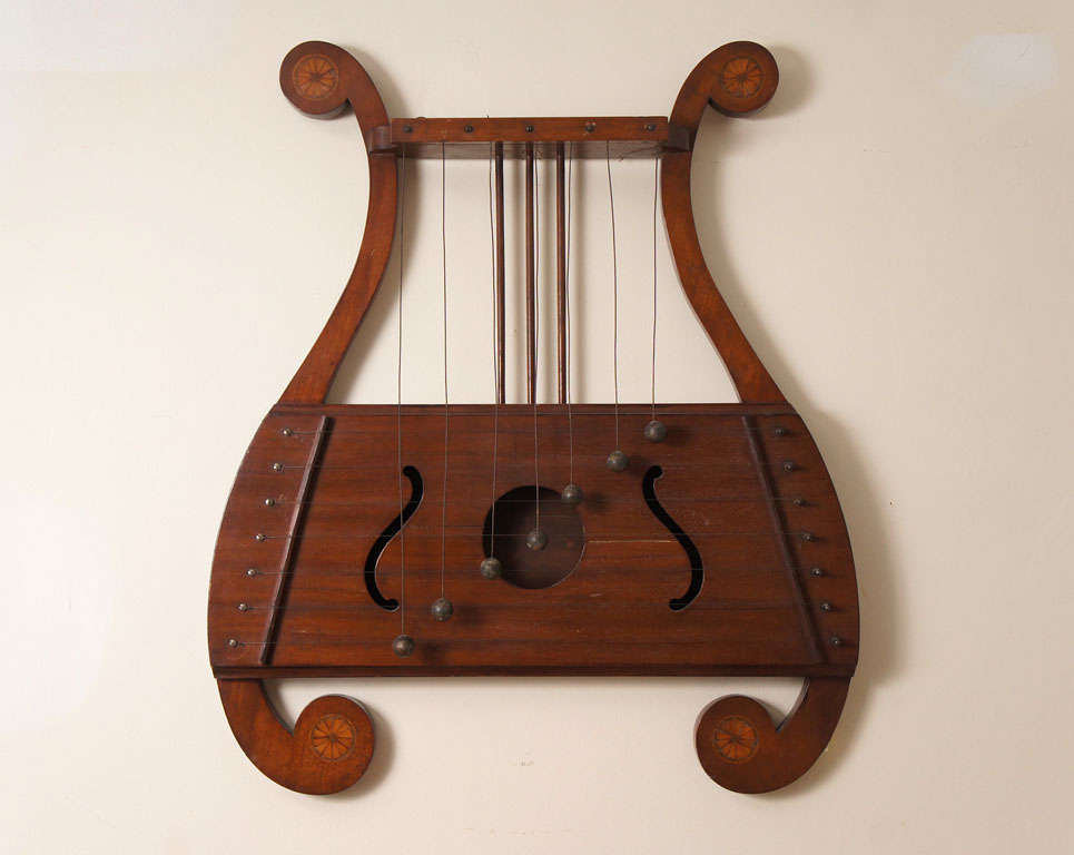 Lyre Shaped Dinner Chime