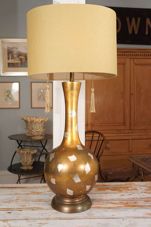 Very Bold Stylish Lamp with Double Socket and Original Tassle Pulls