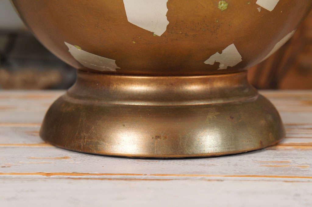 Modernist Gilt Table Lamp For Sale 3
