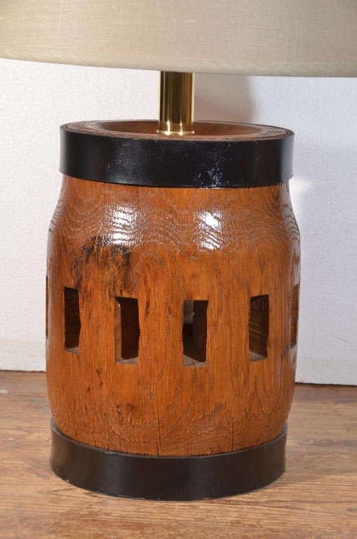 Wagon Wheel Hub As A Table Lamp At 1stdibs