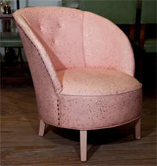 Art Deco  Boudoir Chair By  Dorothy  Draper thumbnail 2