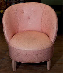 Art Deco  Boudoir Chair By  Dorothy  Draper thumbnail 9