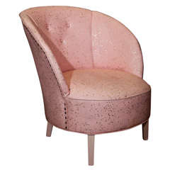 Art Deco  Boudoir Chair By  Dorothy  Draper thumbnail 1