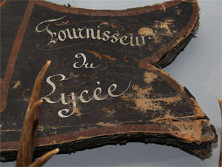 Large French Trade Sign image 5