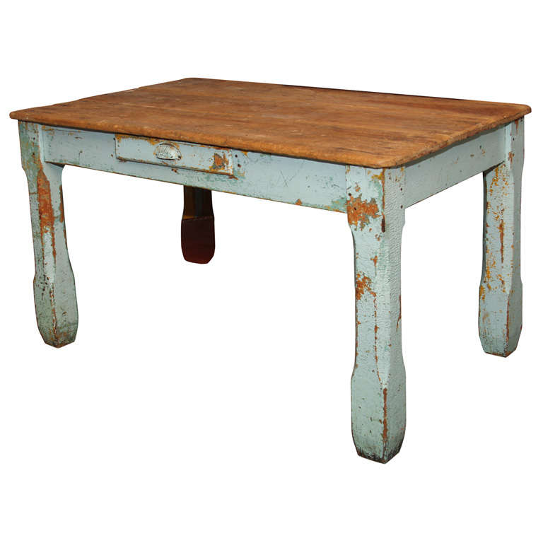 Old Paint Farm Table For Sale