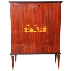 Superb Art Deco Bar or Cabinet by Paolo Buffa