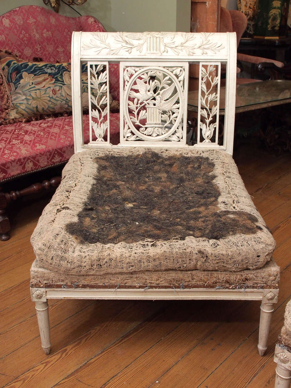 French provencal directoire lit brisee at 1stdibs - Lit provencal ...