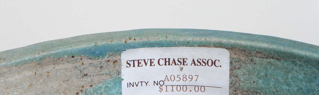 Monumental Lidded Amphora Style Ceramic Vessel, Custom for Steve Chase For Sale 1