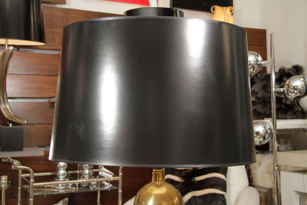 Pair of Brass Table Lamps 3