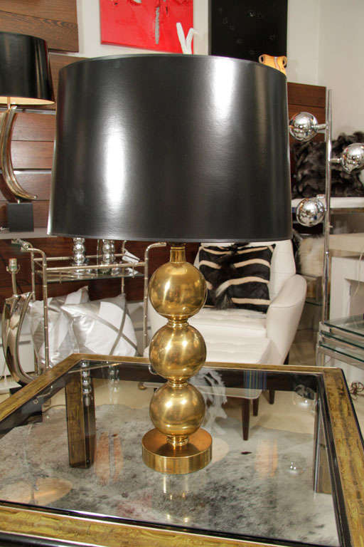 Pair of Brass Table Lamps 2