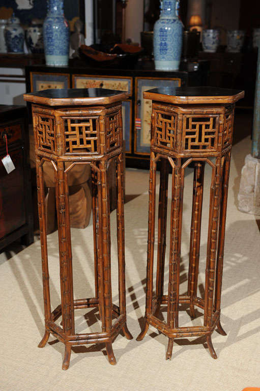 Bamboo Plant Stand At 1stdibs