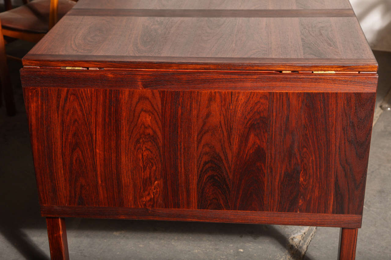 Rosewood Drop Leaf Dining Table by Kai Winding at 1stdibs : IMG4704 from www.1stdibs.com size 1280 x 853 jpeg 120kB