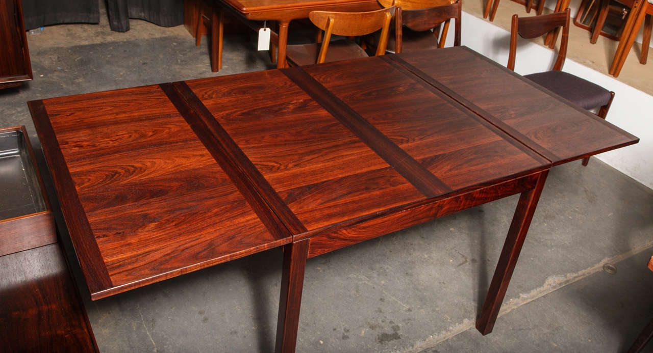 Rosewood Drop Leaf Dining Table by Kai Winding at 1stdibs : IMG4710 from www.1stdibs.com size 1280 x 693 jpeg 109kB