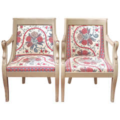 Pair of Empire  Chairs