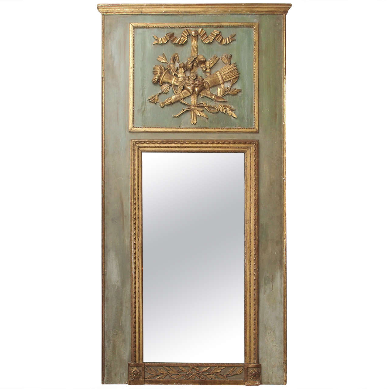 Louis XVI Trumeau Mirror at 1stdibs