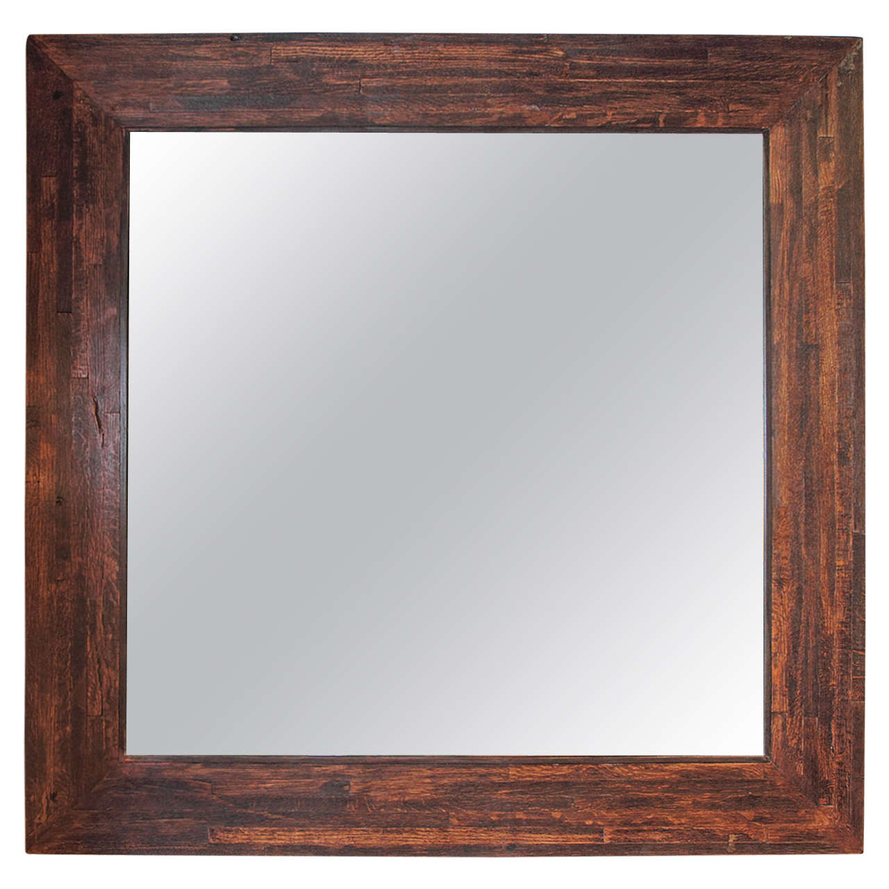 Transitional large maple wood framed mirrors at 1stdibs for Large wall mirror wood frame