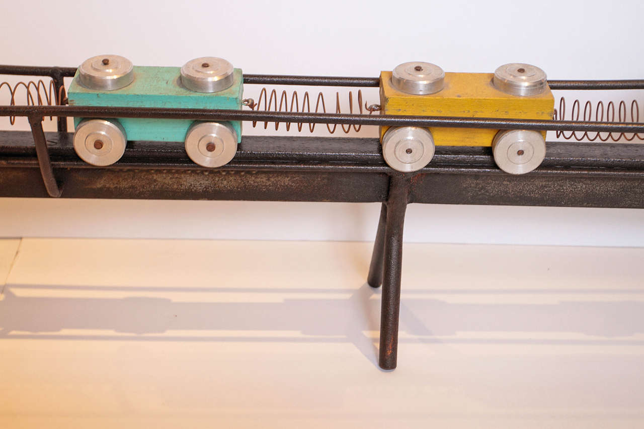 French Toy Train Set For Sale 2