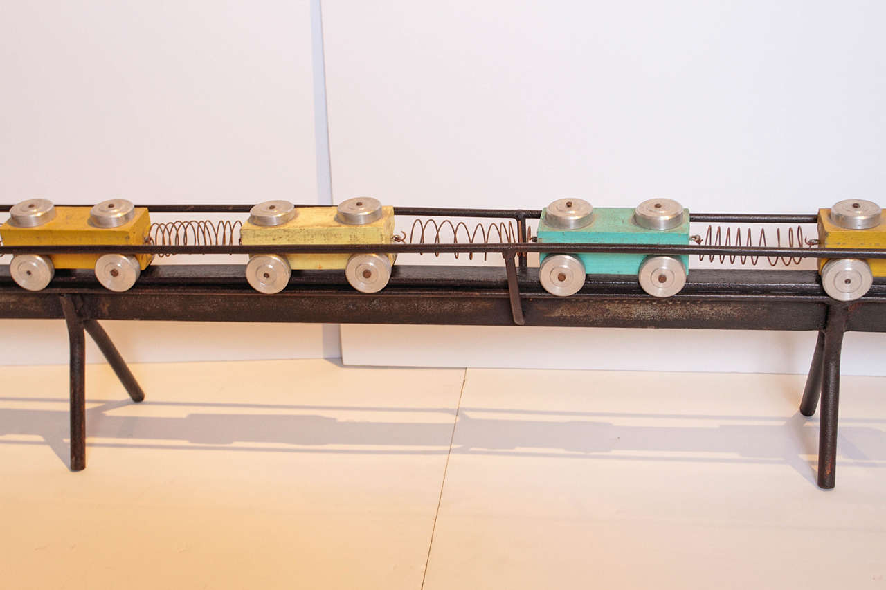 French Toy Train Set For Sale 3