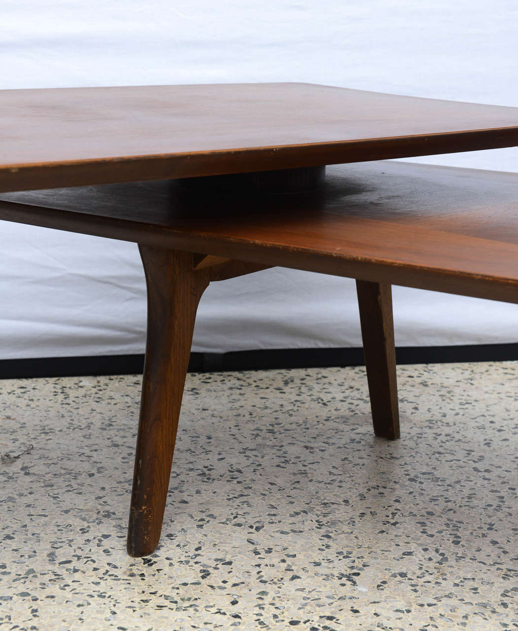 Small Modern Coffee Table 1960s For Sale At 1stdibs: Pivot Or Swivel Mid-Century Modern Coffee Table, 1960s