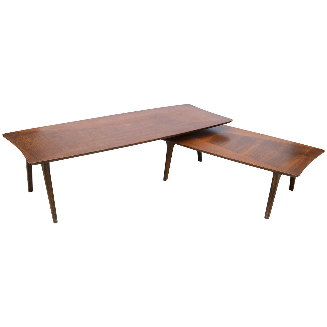 Pivot Or Swivel Mid Century Modern Coffee Table 1960s America At 1stdibs