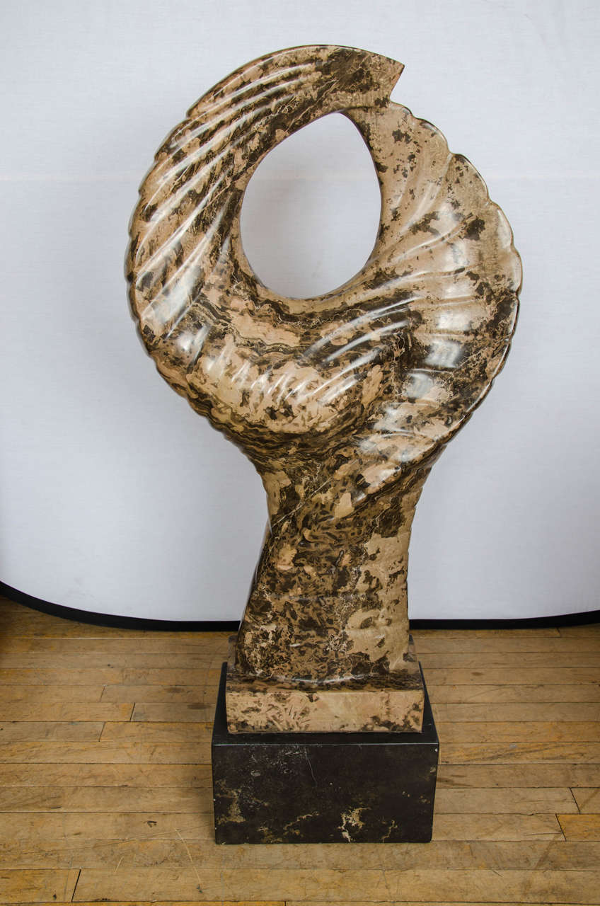 Contemporary Abstract Marble Sculpture For Sale At 1stdibs