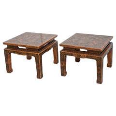 Pair of John Widdicomb Occasional Tables
