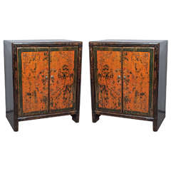 Pair of Antique Chinese Cabinets
