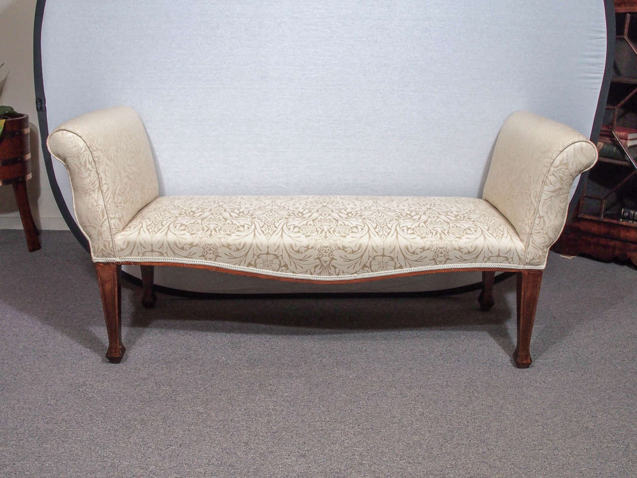 Antique English Window Seat For Sale at 1stdibs