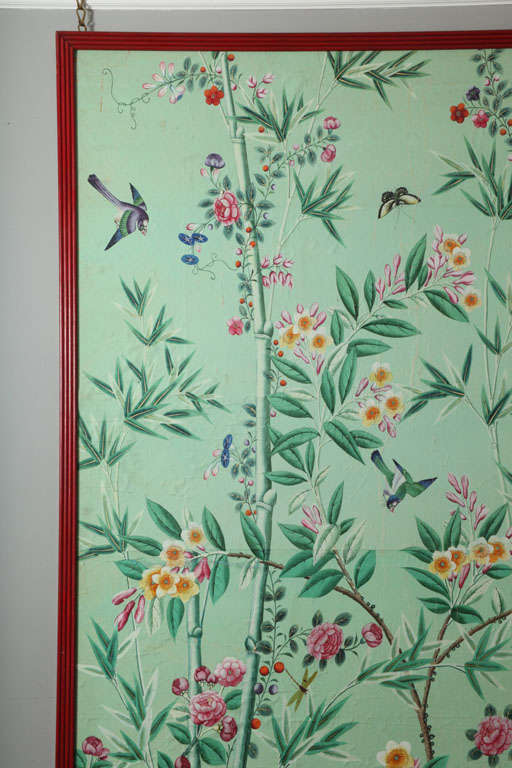 floral wallpaper panels - photo #17