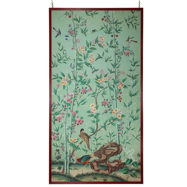 floral wallpaper panels - photo #7