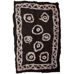Primitive Tribal Felt Rug