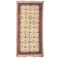 Antique Cotton Dhurrie Rug
