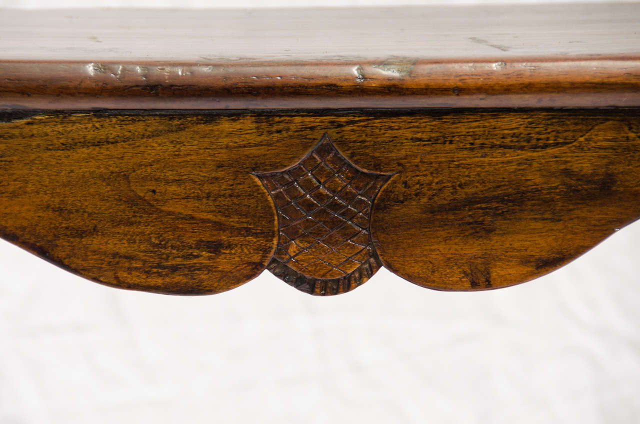 Late 19thC. Indonesian Dutch Colonial Anglo Hanging Display Shelf  3