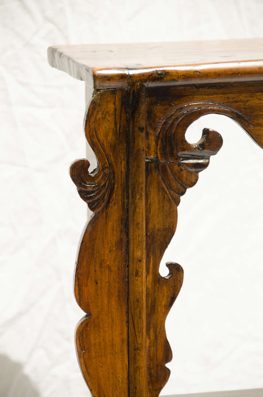 Late 19thC. Indonesian Dutch Colonial Anglo Hanging Display Shelf  5