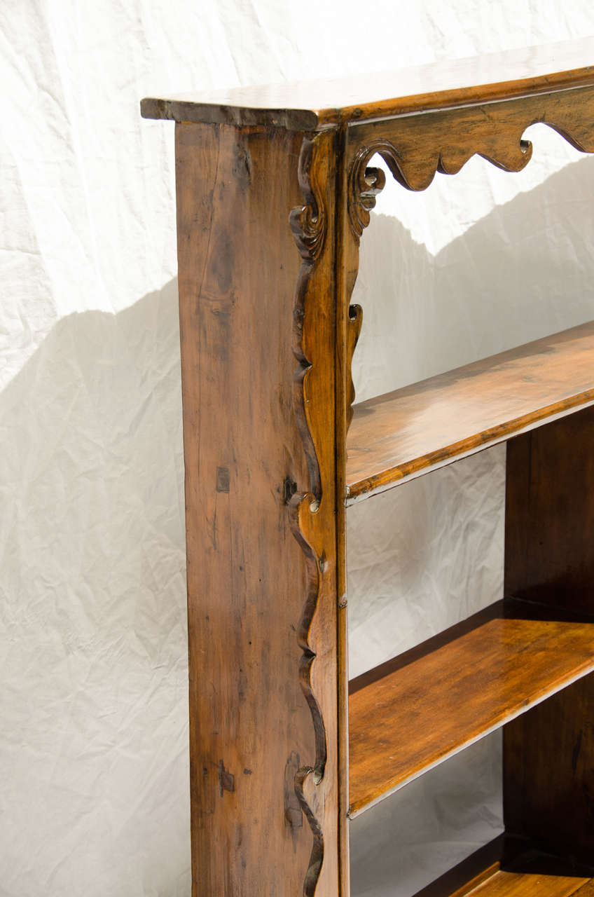 Late 19thC. Indonesian Dutch Colonial Anglo Hanging Display Shelf  6