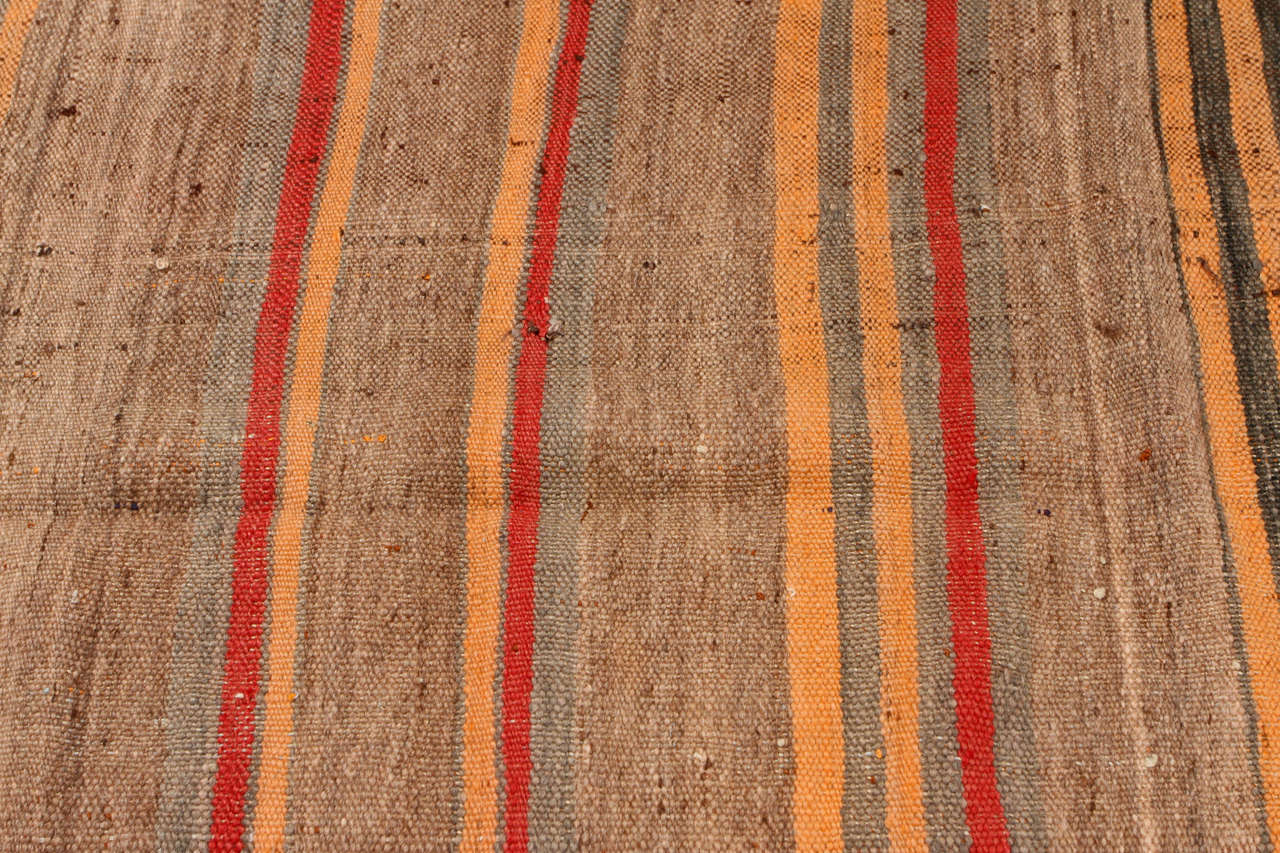 Mid-20th Century Moroccan Vintage Tribal Rug For Sale