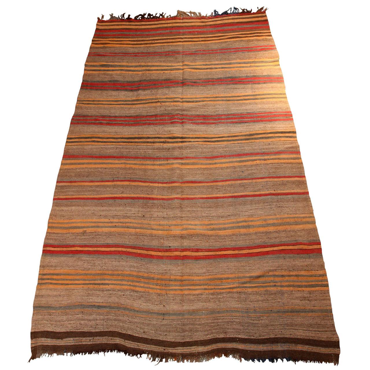 Moroccan Vintage Tribal Rug For Sale