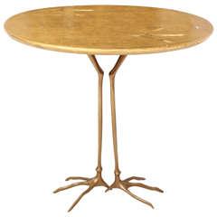 Meret Oppenheim Traccia Side Table
